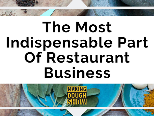 The Most Indispensable Part Of Restaurant Business