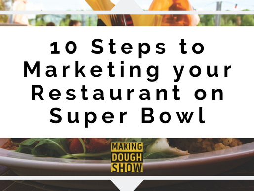 10 Steps to Marketing your Restaurant on Super Bowl