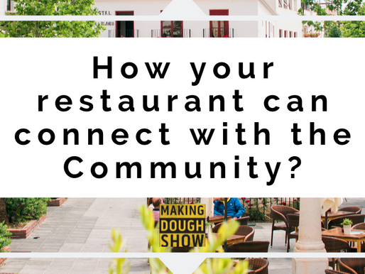 How your restaurant can connect with the Community?