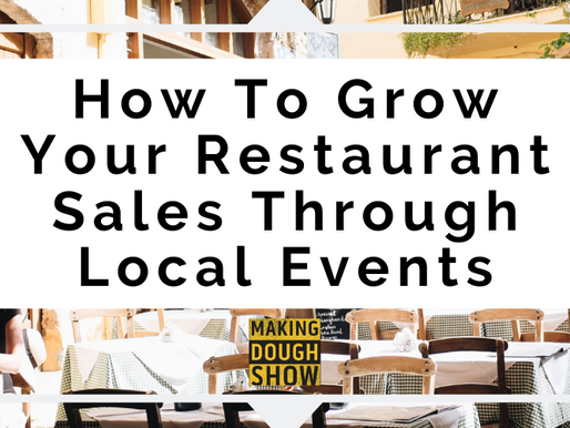 How To Grow Your Restaurant Sales Through Local Events