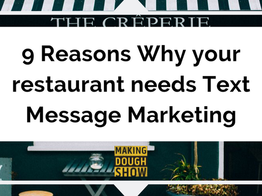 9 Reasons Why your restaurant needs Text Message Marketing