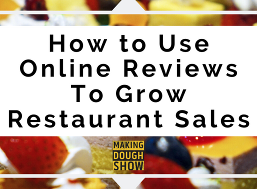 How to Use Online Reviews To Grow Restaurant Sales