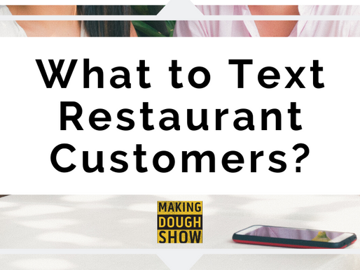 What to Text Restaurant Customers?