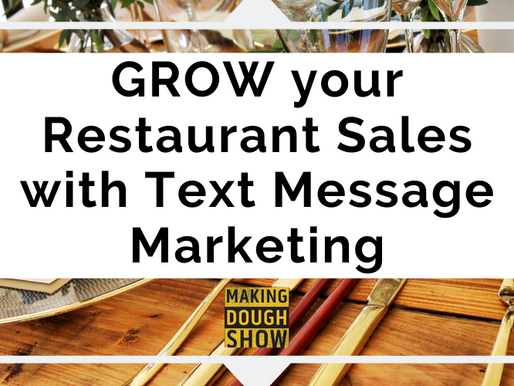GROW your Restaurant Sales with Text Message Marketing