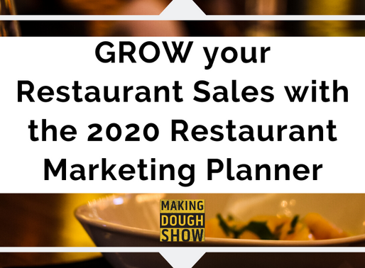 Grow your Sales with the 2020 Restaurant Marketing Planner