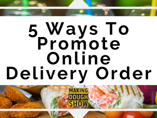 5 Ways To Promote Online Delivery Order