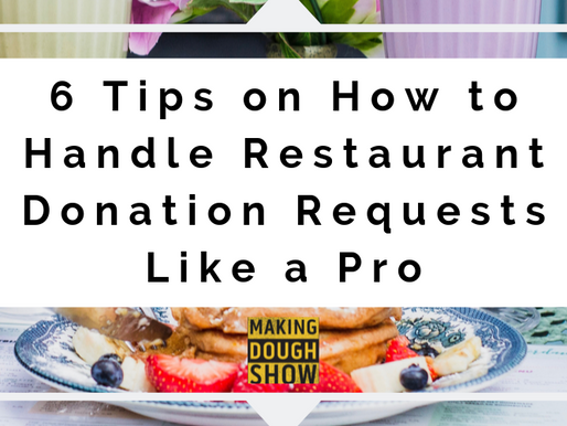 6 Tips on How to Handle Restaurant Donation Requests Like a Pro