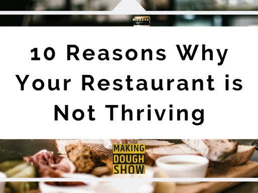 10 Reasons Why Your Restaurant is Not Thriving