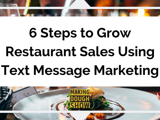 6 Steps to Grow Restaurant Sales Using Text Message Marketing