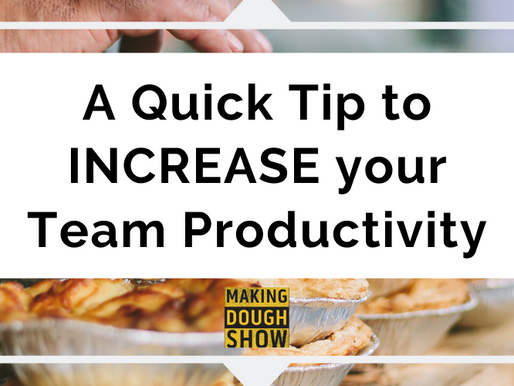 A Quick Tip to INCREASE your Team Productivity