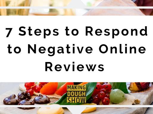 7 Steps to Respond to Negative Online Reviews