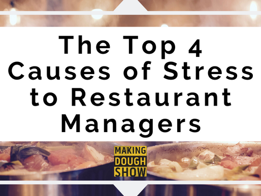 The Top 4 Causes of Stress to Restaurant Managers