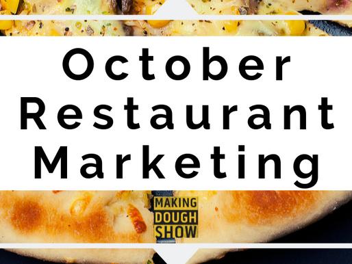 October Restaurant Marketing