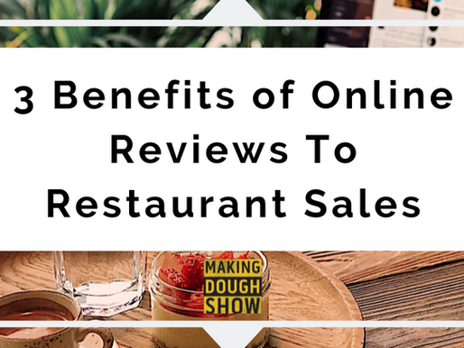 3 Benefits of Online Reviews To Restaurant Sales