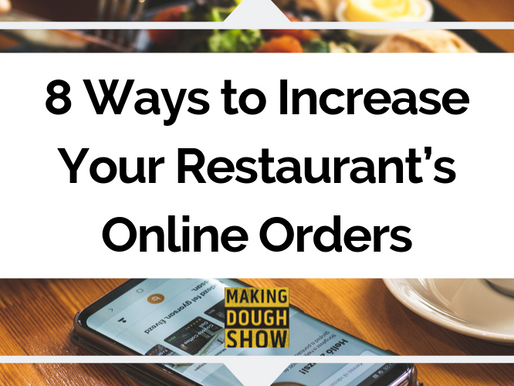 8 Ways to Increase Your Restaurant's Online Orders