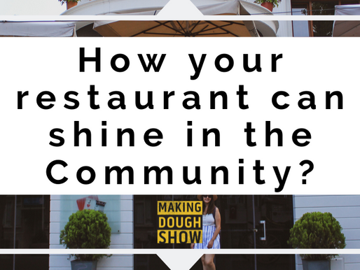 How your restaurant can shine in the Community?