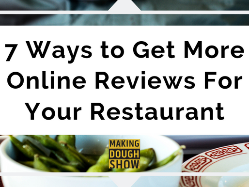 7 Ways to Get More Online Reviews For Your Restaurant
