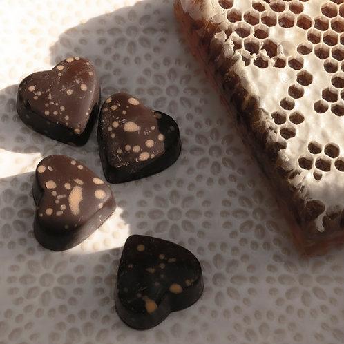 Sjokoladepraliner med honning