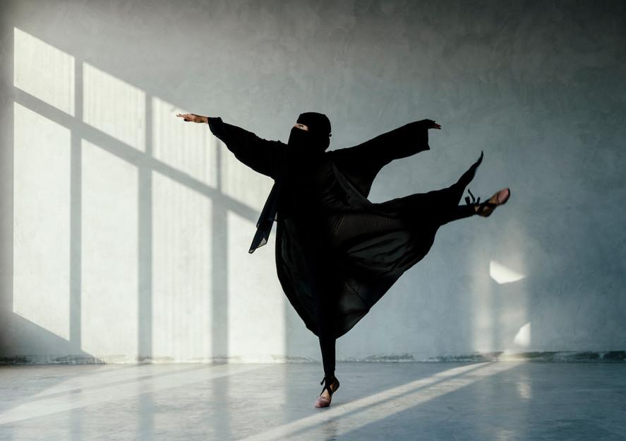 Saudi Ballerina | راقصة الباليه السعودية