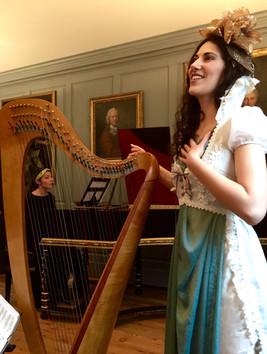 Harp and harpsichord in Handel's House