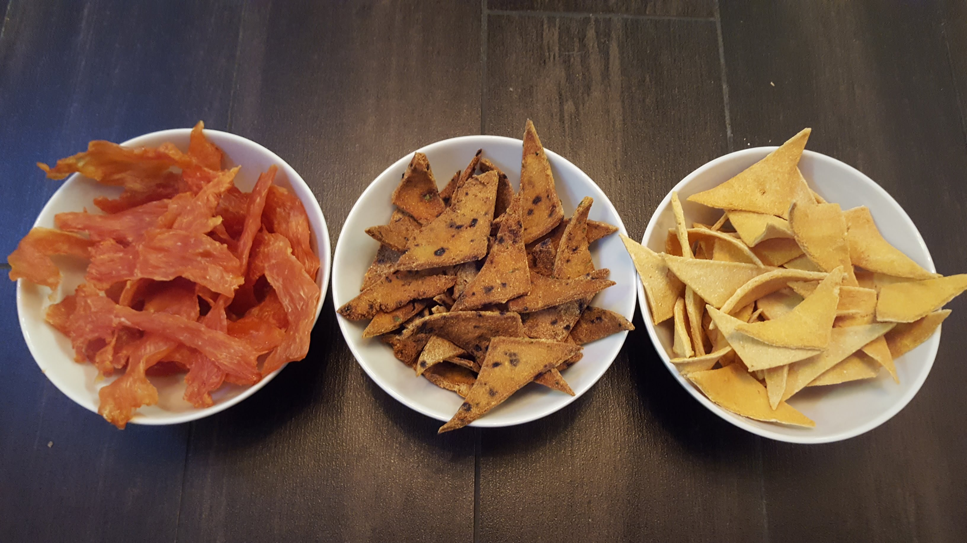 Homemade snacks for dogs