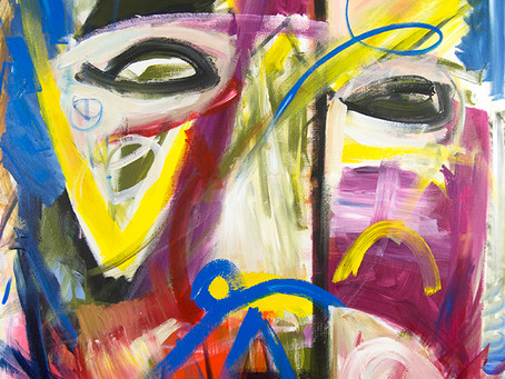 Many new paintings in all of my cooperating galleries,