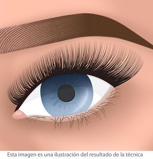 extensiones de pestañas ojo de gata facialtec