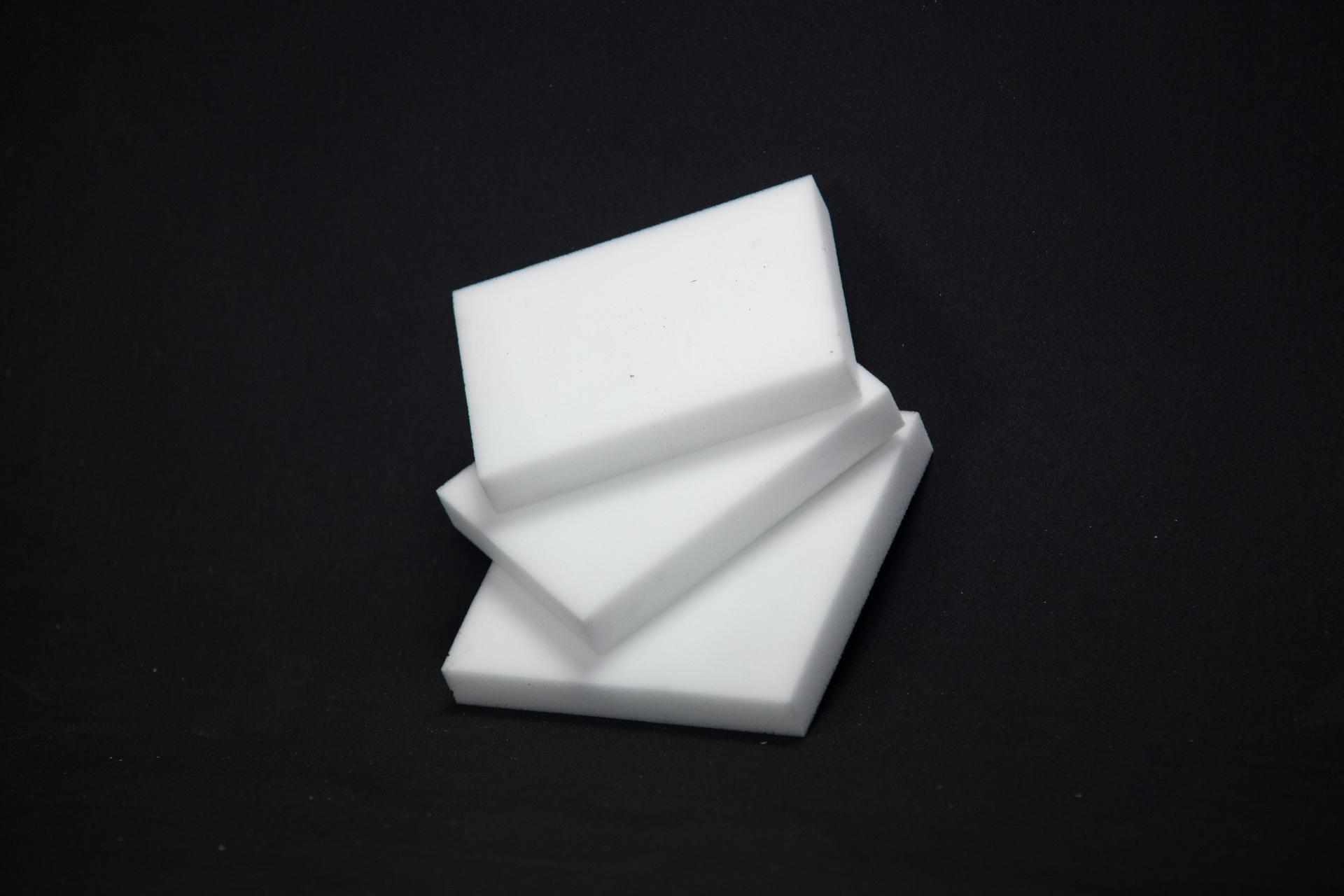 Plaques mousse de mélamine blanche