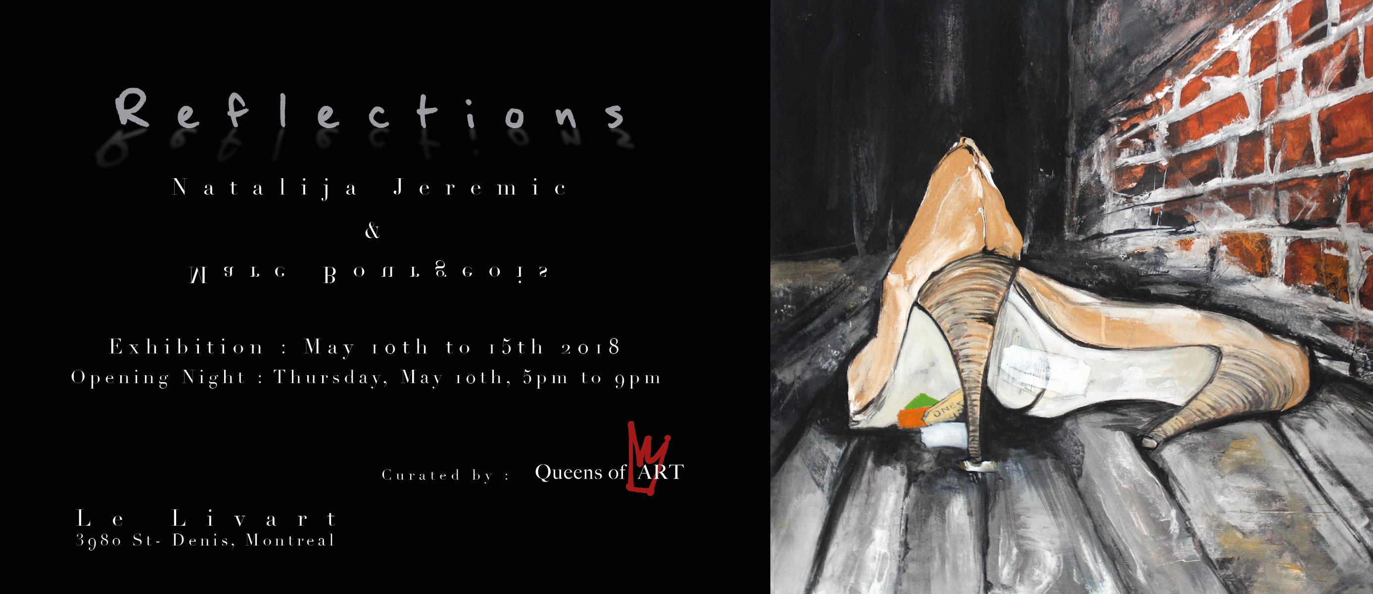 Invitations Exposition Nat & Marc