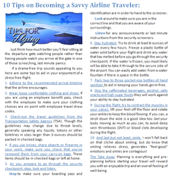 10 Tips on Becoming a Savvy Airline Traveler
