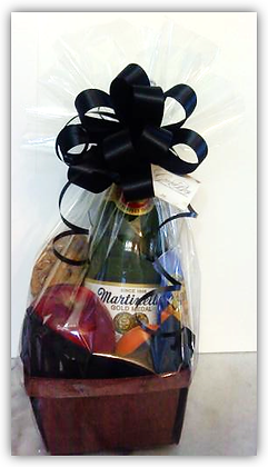Beautifully Crafted, Hotel Gift Basket (brown)