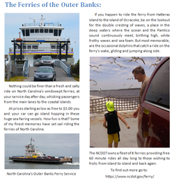 The Ferries of the Outer Banks