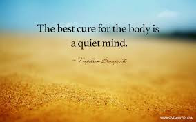 The Power of  A Quiet Mind