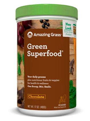 Amazing Grass Green Superfood - Chocolate 17 oz