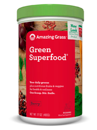 Amazing Grass Green Super Foods - Berry 17 oz.