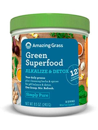 Amazing Grass Green Superfood-Alkalize & Detox 8.5 oz