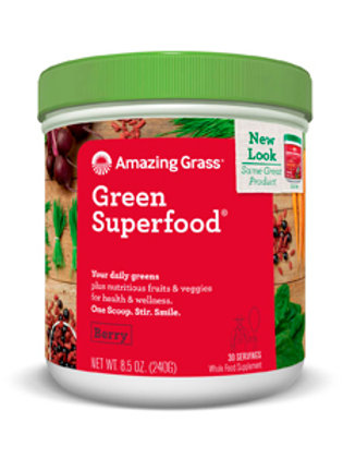 Amazing Grass Green Superfood - Berry 8.5 oz