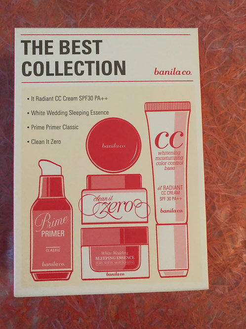 Banila co (Made in Korea) set CC cream, sleeping essence, primer, make up remove