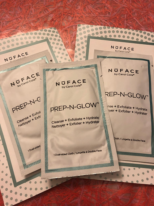 NuFace Prep-n-glow pads x 3