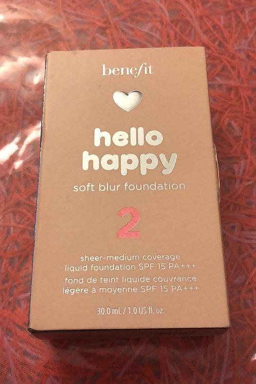 Benefit Hello Happy Soft Blur Foundation Full Size