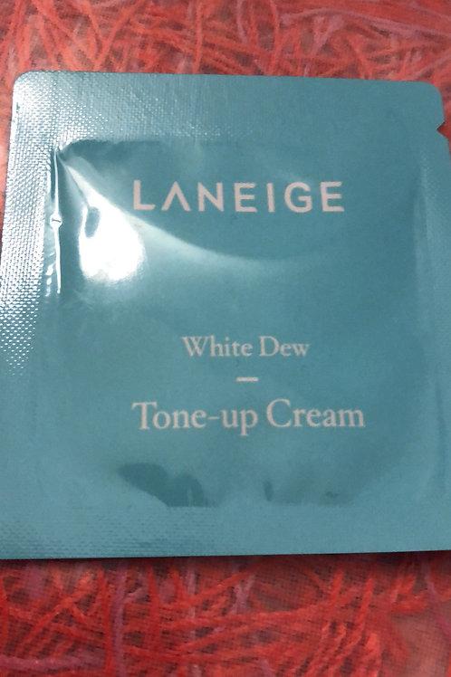 Made in Korea White Dew Tone Up Cream Sample