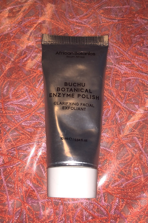 African Botanicals Buchu Botanical Enzyme Polish 10ml