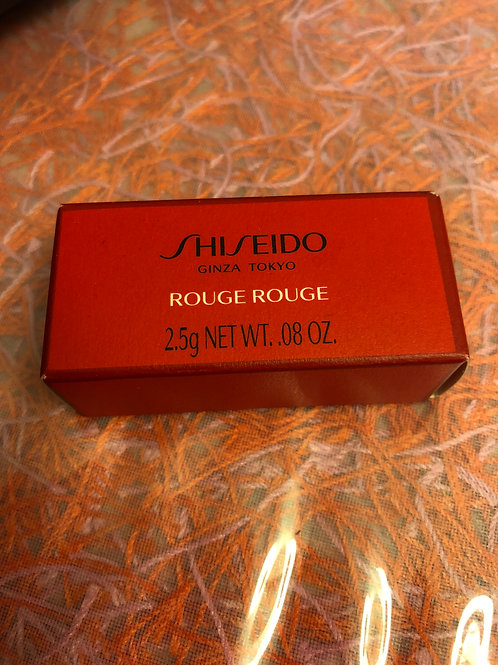 Shiseido Rouge Rouge Lipstick Red RD501 Deluxe Size 2.5g