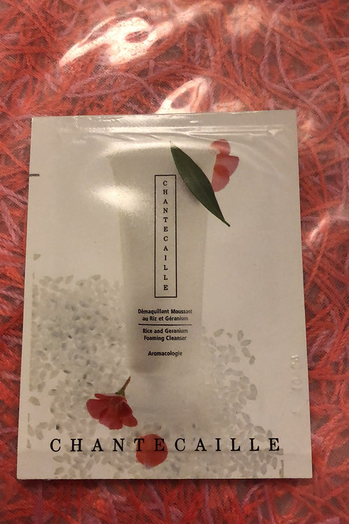 Chantecaille Rice and Geranium Foaming Cleanser Sample