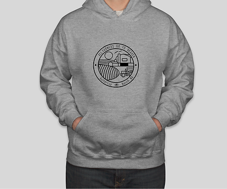 ALL FARMERS GO TO HEAVEN HOODIE