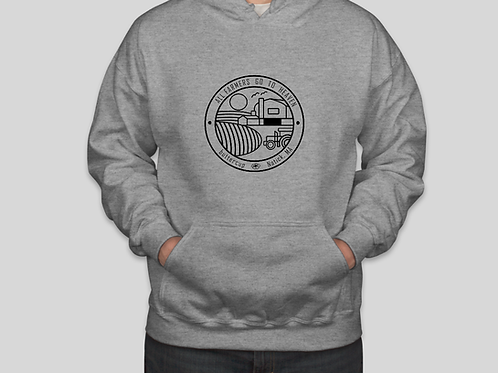 All Farmers go to Heaven sweatshirt Unisex