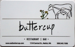 Buttercup Physical Gift Card