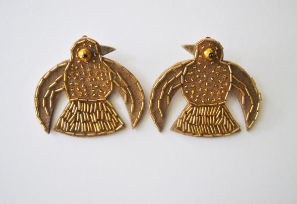 Pájaro Wari Earings
