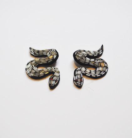 Serpiente Earings