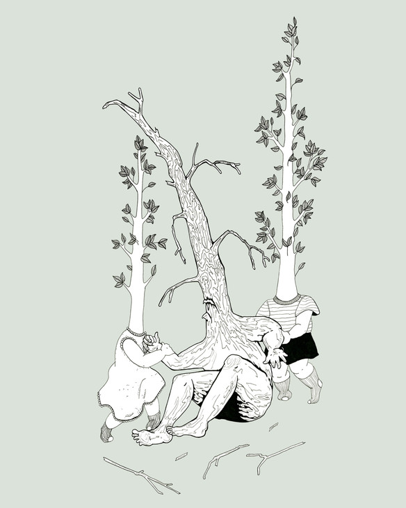 broken branches can still be carried